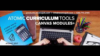 Atomic Curriculum Tools by Atomic Jolt Demo
