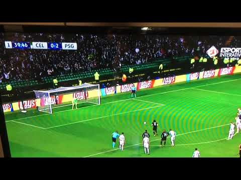Celtic 0 x 3 PSG Cavani de Pênalti!!
