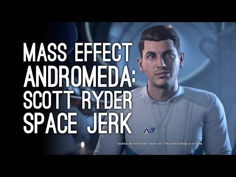 Mass Effect Andromeda Gameplay: Scott Ryder is a Space Jerk (Let's Play Mass Effect Andromeda)