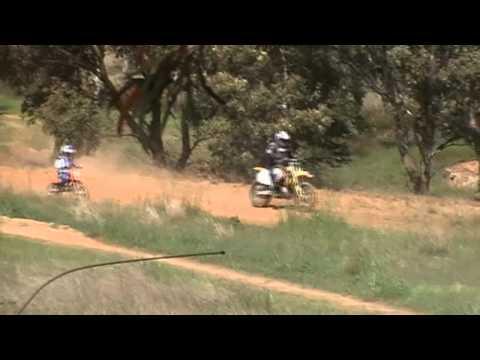 Boyd Suzuki Rm250 2011 vs 8 Year Old On KTM 50