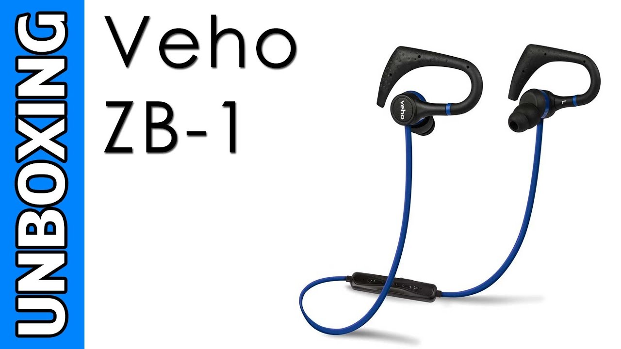veho zb 1 wireless bluetooth headphones unboxing youtube. Black Bedroom Furniture Sets. Home Design Ideas