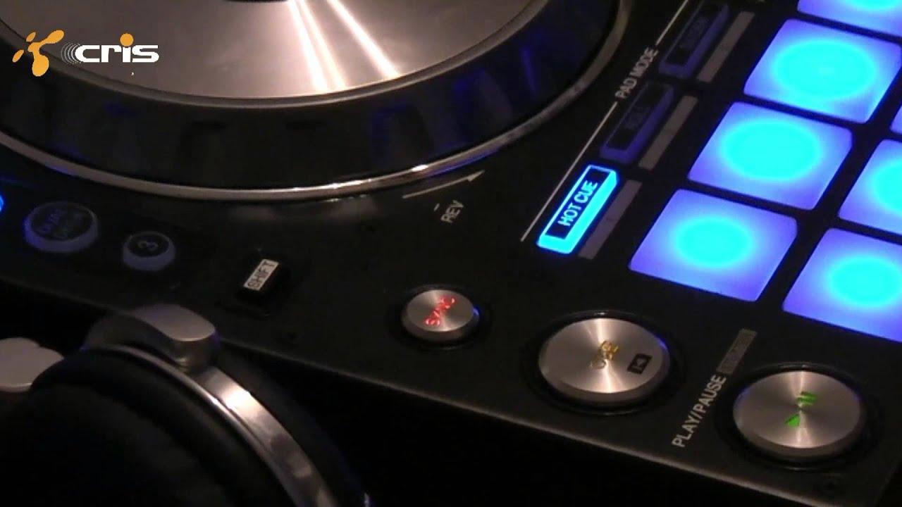 Pioneer DDJ-SX with SERATO DJ on MacBook Pro - YouTube  Pioneer DDJ-SX ...