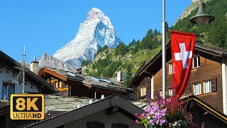 Zermatt Switzerland 8K