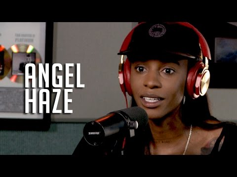 Angel Haze Talks Her Love of T*ts, Growing Up in a Cult + Why Her Mom Doesn't have Her Phone #