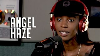 Repeat youtube video Angel Haze Talks Her Love of T*ts, Growing Up in a Cult + Why Her Mom Doesn't have Her Phone #