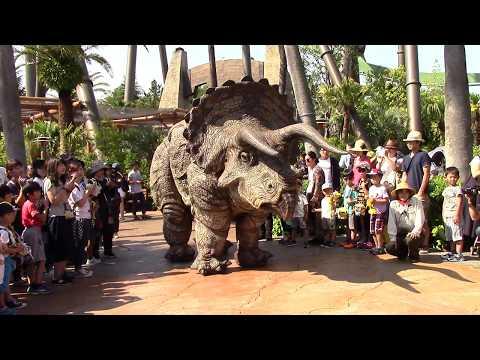 Dinosaur Wonder Experience Show // Jurassic Park // Universal Studios Japan