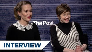 The Post cast talks working with Spielberg and Streep