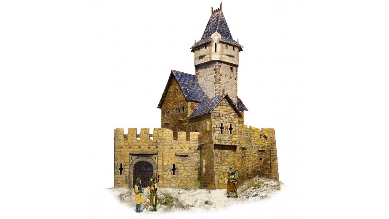 umbum medieval castle fortified puzzle 3d terrain set. Black Bedroom Furniture Sets. Home Design Ideas