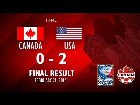 Canada 0:2 USA - Post-match comments, Women's Olympic Qualifying