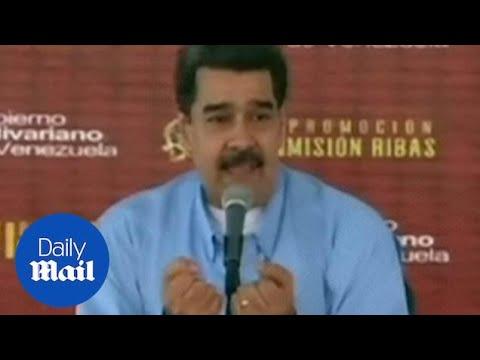 Nicolas Maduro says ex-intelligence chief helped plan 'coup'