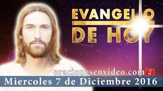 Evangelio de Hoy Miércoles 7 de Diciembre 2016 Venid los cansados y agobiados,  yo os aliviaré