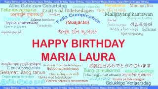 MariaLaura   Languages Idiomas - Happy Birthday