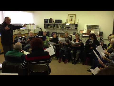 Cantor Maissner and the Holy Blossom Temple Singers - Rehearsal