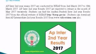 AP Inter Results 2018  -AP Intermediate 2018 Results -Coming Soon@Vidyavision