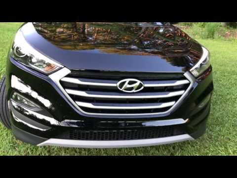 Best Detailed Video Review 2017 Hyundai Tucson Night AWD
