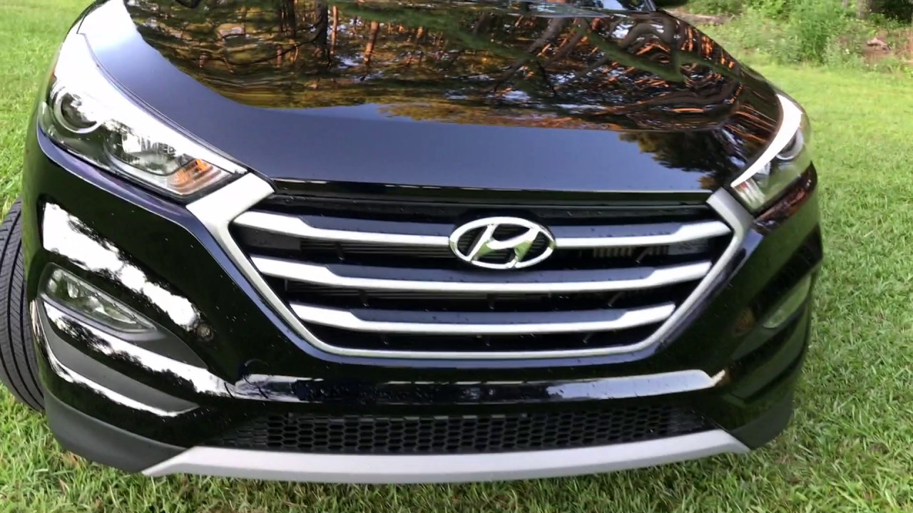 best detailed video review 2017 hyundai tucson night awd. Black Bedroom Furniture Sets. Home Design Ideas
