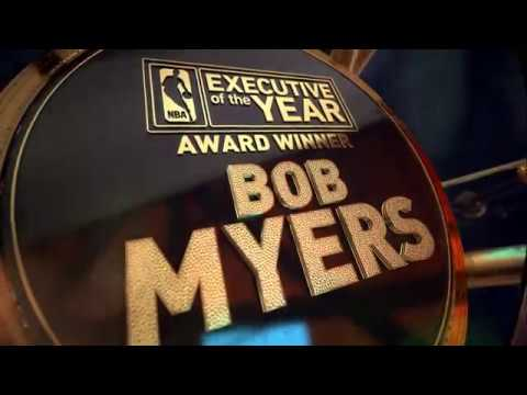 Warriors' General Manager Bob Myers wins the NBA Executive of the Year Award | NBA on TNT
