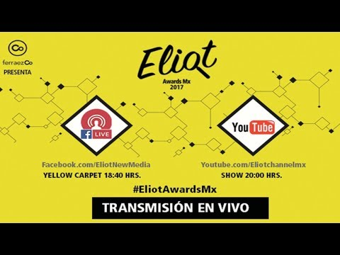 Evento Eliot Awards 2017 en vivo
