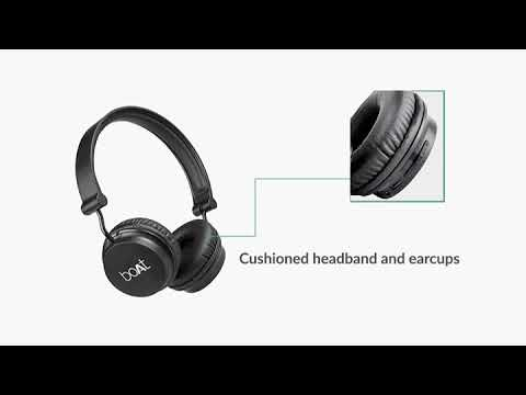 Boat Rockerz 400 On Ear Bluetooth Headphones Carbon Black Buy Now On Amazon Youtube