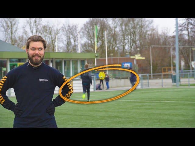Kindje breekt zijn pols tijdens een Bankzitters voetbalvideo...