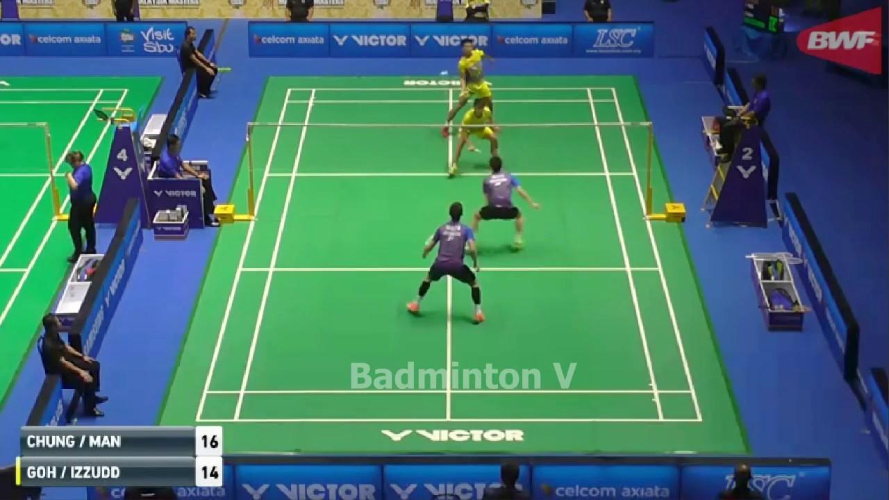 Badminton 2017 MalaysiaMaster GOH Sze Fei IZZUDDIN Nur vs OR Chin