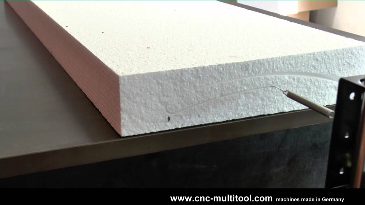 CNC Hot Wire Foam cutting - Magnum reloaded Part2 - Wings - YouTube