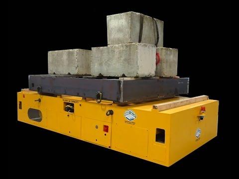 Titan 163665 Free Range Flat Deck Transporter 70,000 lb Capacity