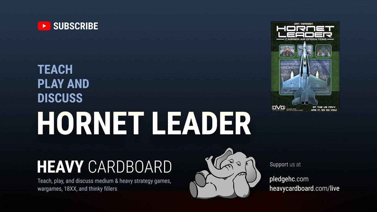 Hornet Leader: Carrier Operations Solo Teaching & Play-through by Heavy  Cardboard