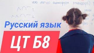 ЦТ В8. Словообразование