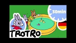 TROTRO DEUTSCH 📞  Hallo Trotro  Kartoon HD 2019☃️