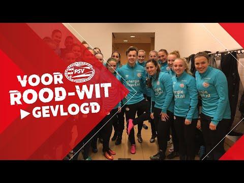 MEETRAINEN MET PSV VROUWEN | Voor Rood-Wit Gevlogd #10