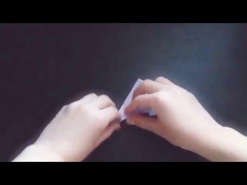 How to make an origami sailor hat bookmark • DIY
