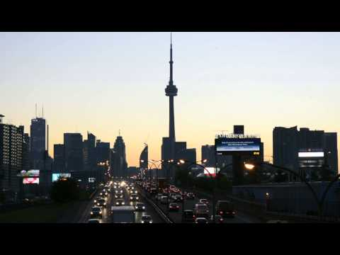 CN Tower and the QEW Highway