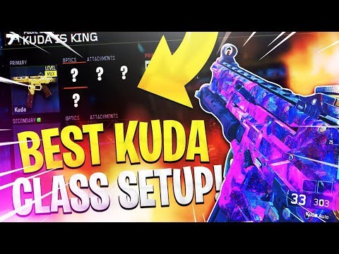 """(BO3) THE *NEW* BEST KUDA SMG IN BLACK OPS 3 """"MUST TRY SMG"""""""