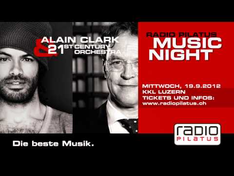Radio Pilatus Music Night Alain Clark & 21st Century Orchestra - TV Ad