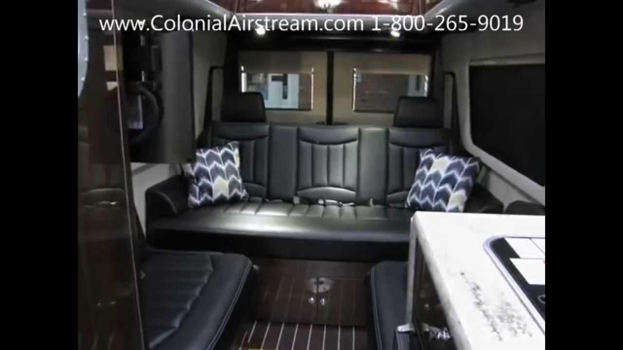 Elegant New 2016 Airstream Interstate Ext Lounge 9 Passenger Mercedes Benz Sprinter - YouTube