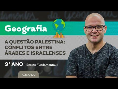 A Questão Palestina: Conflitos Entre Árabes E Israelenses – Geografia – 9º Ano – Ensino Fundamental