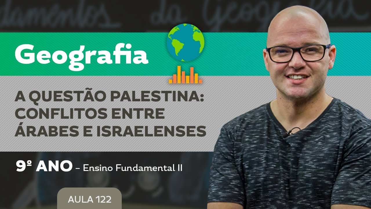 Download A Questão Palestina: Conflitos entre Árabes e Israelenses – Geografia – 9º ano – Ensino Fundamental