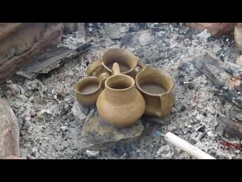 Primitive Pottery Session - Firing