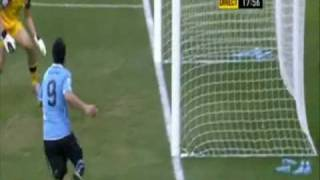 Uruguay vs South Korea Highlights World Cup 2010