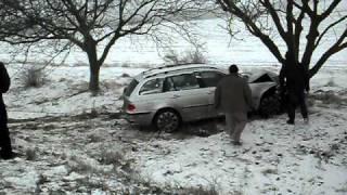 Авария между Анений Ной и Каушень (Молдова) часть 1