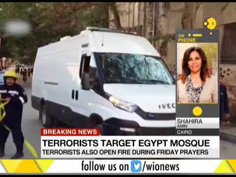 Death toll in Egyptian mosque  egypt