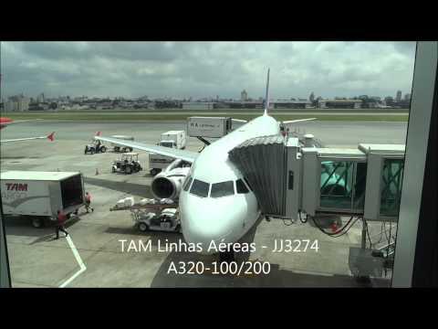 Goiânia para Ribeirão Preto - TAM Linhas Aéreas A320