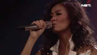 Konser Make It Happen - Agnez Mo Rapuh