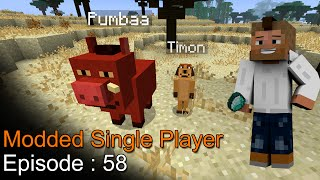Repeat youtube video Minecraft MSP Episode 58 - ماين كرافت موديد سنقل بلاير الحلقة 58