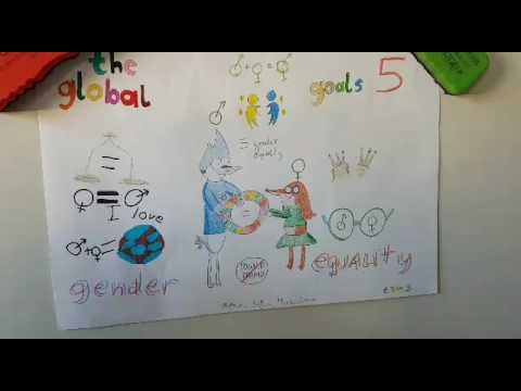 etschools: The global goals displays