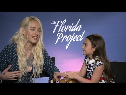 'The Florida Project' co-stars compare Instagram accounts