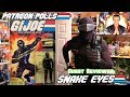 G.I. Joe Snake Eyes (1983) with special guest reviewer SNAKE EYES!