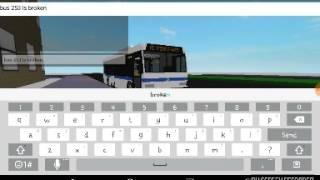 Roblox gameplay: MTA bus 253 broken down part 1