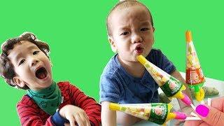 Kinderlieder und lernen Farben Rua und Voi spielen Spielzeug Entertainment Kinderreime 3